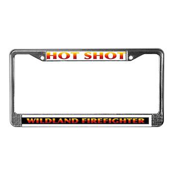 Firefighter License Plate Frame > Wildland Firefighter Buys Online ...