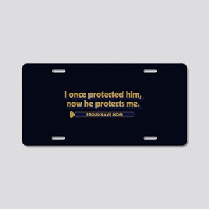 U.S. Navy Now He Protects M Aluminum License Plate