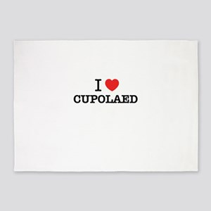 I Love CUPOLAED 5'x7'Area Rug
