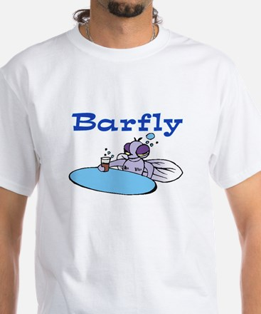 BARFLY White T-Shirt
