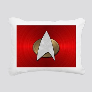 STARTREK TNG METAL 4 Rectangular Canvas Pillow