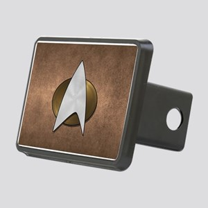 STARTREK TNG METAL 3 Rectangular Hitch Cover