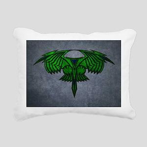 STARTREK ROMULAN GRUNGE Rectangular Canvas Pillow