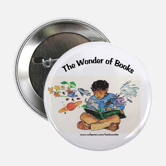 """Wonder of Books 2.25"""" Button"""