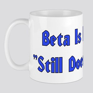 Beta is Latin Mug