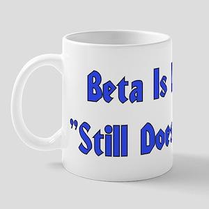 Beta is Latin Mug