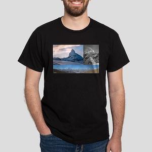 Everest,K2 and Matterhorn Summits T-Shirt
