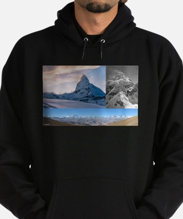 Everest,K2 and Matterhorn Summits Sweatshirt