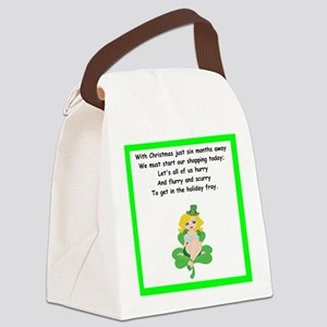 funny limerick Canvas Lunch Bag