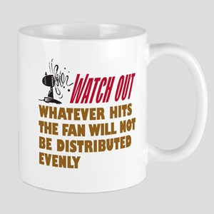Hits the Fan - Mug