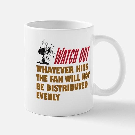 Hits the Fan - Mug