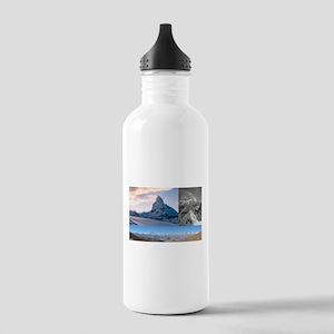 Everest,K2 and Matterhorn Summits Water Bottle