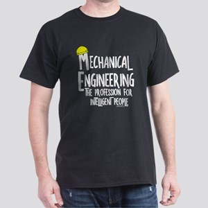 Smart Mechanical Engineer Rough Text T-Shirt