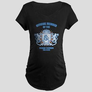 Belgian Tervuren Maternity Dark T-Shirt