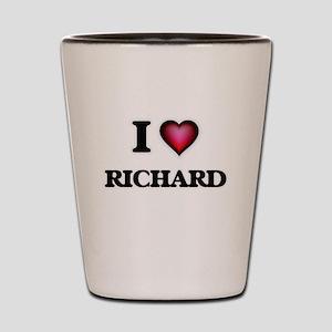 I Love Richard Shot Glass