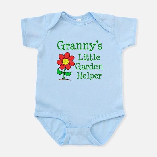 Granny Little Garden Helper Body Suit