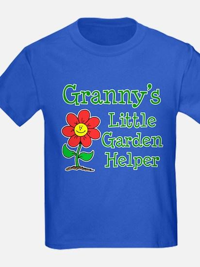 Granny Little Garden Helper T-Shirt