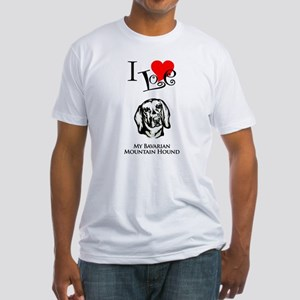 Bavarian Mountain Hound Fitted T-Shirt