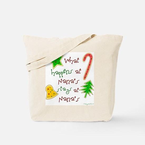 """""""Christmas Nana"""" Tote Bag"""