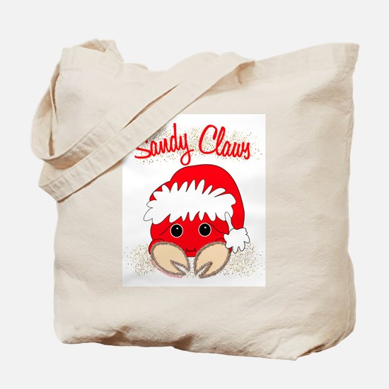 """""""Sandy Claws"""" Tote Bag"""