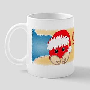 """""""Christmas Crab"""" Sandy Claws Mug"""
