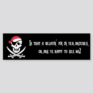 Pirate Bumper Sticker #1