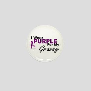 I Wear Purple For My Granny 3 (PC) Mini Button
