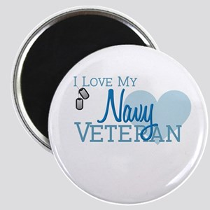 Navy Veteran Magnet