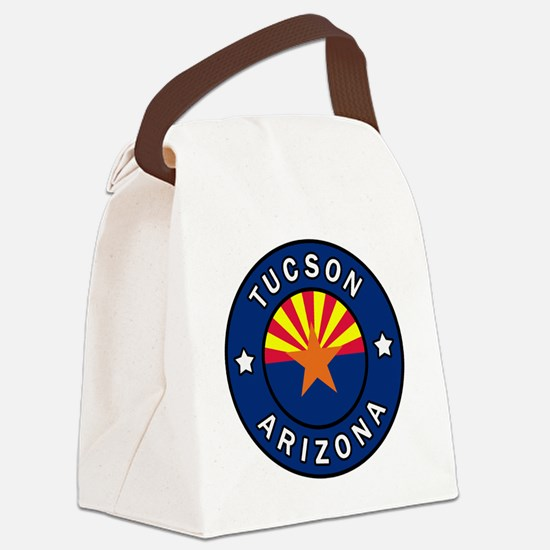 Cute Grand canyon state Canvas Lunch Bag