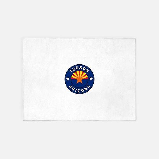 Tucson Arizona 5'x7'Area Rug