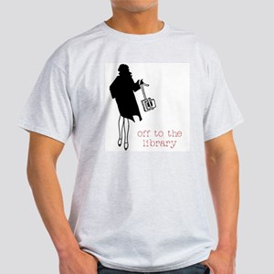 Off to the Library T-Shirt