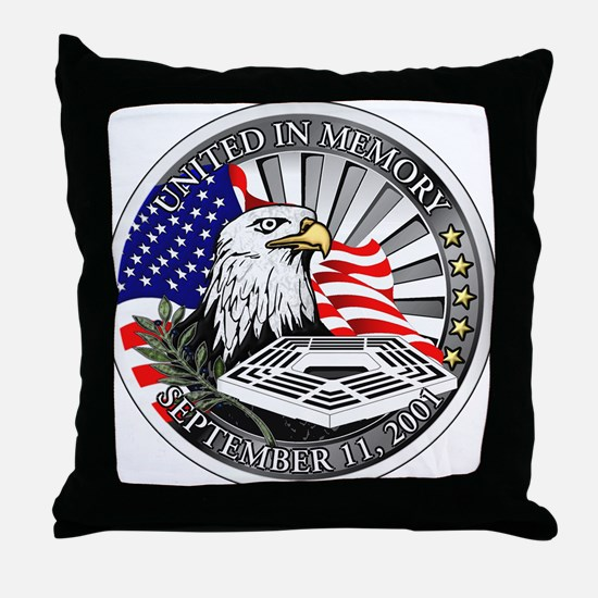 9/11 Memorial Throw Pillow