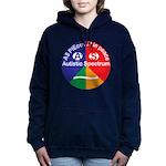 Autistic Spectrum logo Women's Hooded Sweatshirt