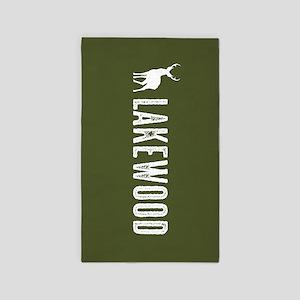 Deer: Lakewood, Colorado Area Rug