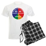 Autistic Spectrum logo Men's Light Pajamas