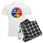 Autistic Spectrum logo Men's Light Pajamas