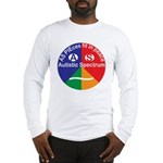 Autistic Spectrum logo Long Sleeve T-Shirt