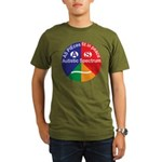 Autistic Spectrum log Organic Men's T-Shirt (dark)
