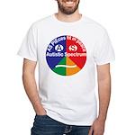 Autistic Spectrum logo White T-Shirt