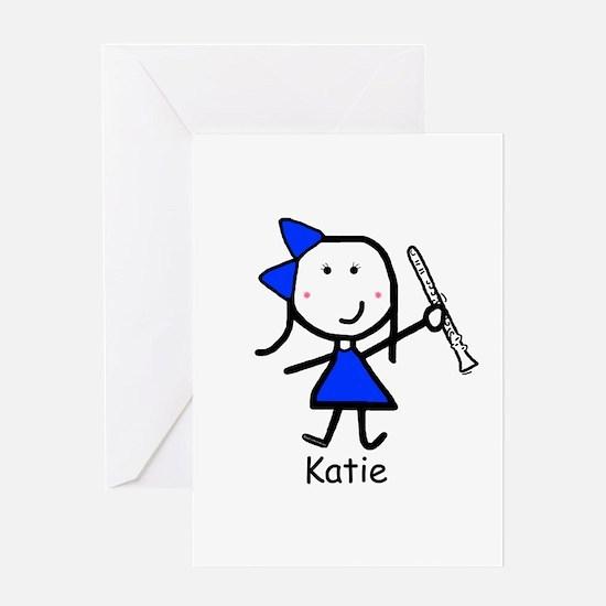 Clarinet - Katie Greeting Card