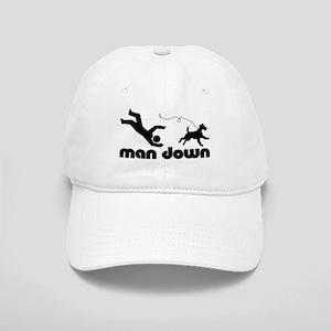 man down airedale Cap