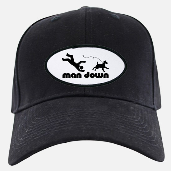 man down airedale Baseball Hat