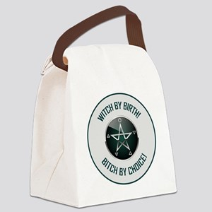 WITCH BY BIRTH! Canvas Lunch Bag