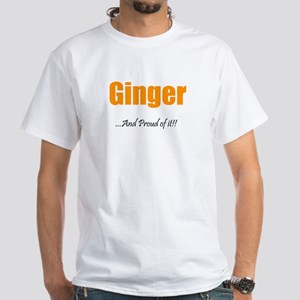 Ginger Pride (White T-Shirt)