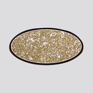 Girly Glam Gold Glitters Patch