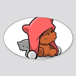 Kawaii Teddy Bear Sticker