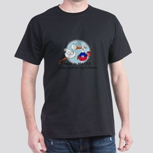 Stork Baby Haiti USA T-Shirt