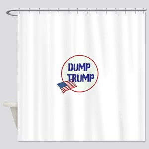 Dump Trump Anti Shower Curtain