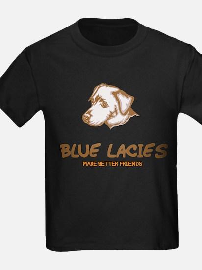 Blue Lacy T