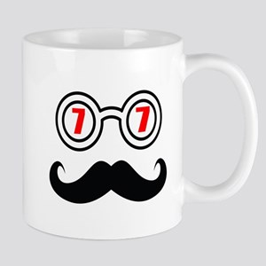 77 Birthday Designs 11 oz Ceramic Mug